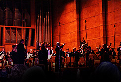 Concert in Bulgaria Hall, conducted by Boris Spassov