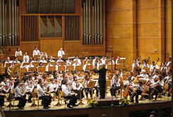 "Boris Spassov conducts concert of YPO Pioneer in ""Bulgaria"" Hall"