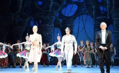 "Performance of ""The Corsair"" in ""Bolshoi Theatre"" in Moscow, conducted by Boris Spassov"